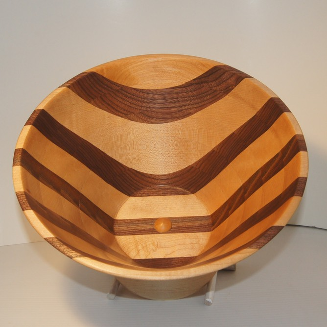 Bowl From A Board Made Easy Rocky Roost Wood Turning Syd Sellers